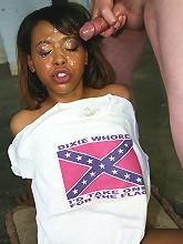 black girl interracial bukakke gangbang facials