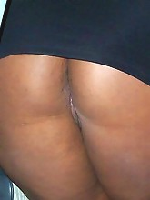 Rosa is one sexy freaky black woman. She's ready to get it on in the car, outside, or even on a swing