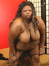 Candy Diamond�s a big Black mama with a lot of cushion for the pushing