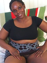 43 year old Sweety says she gets her name from the taste of her black pussy juices. With huge black boobs and a thick black booty Sweety is the full package
