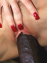 Cute Redhead With A Huge Black Dick